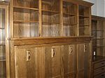 Stained Hickory Murphy Bed