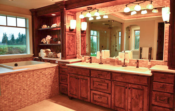 Custom Built Cabinets For Kitchens And Bathrooms Country Cabinets